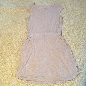 Athleta Gray Jersey Pocket Dress, Size Medium